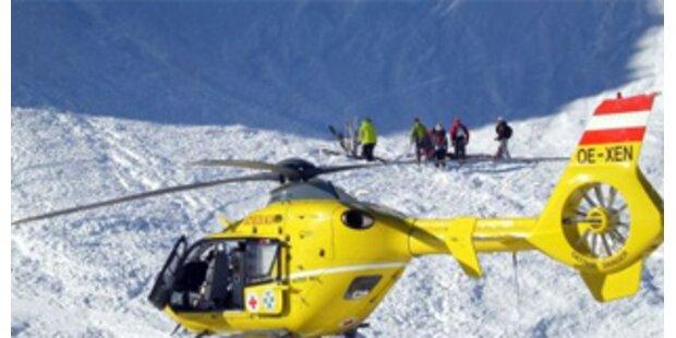 Mehrere Suchaktionen nach Lawinenabgängen in Tirol
