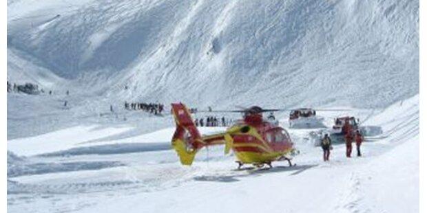 2 Skifahrer von Lawine erfasst -gerettet