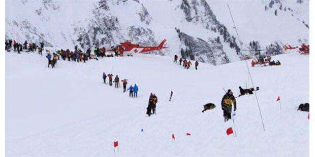 Lawinenkatastrophe in der Schweiz