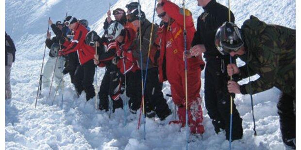 Kletterer unverletzt aus Lawine gerettet