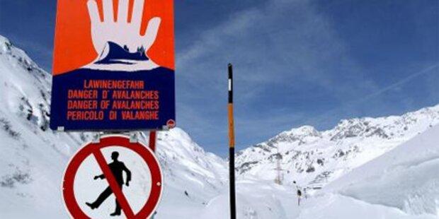 Ein Toter nach Arlberg-Lawinenunglück