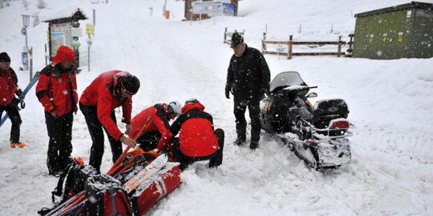Tirol: Mann stirbt unter Lawine