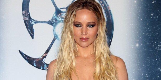 Jennifer Lawrence zieht für Vogue blank