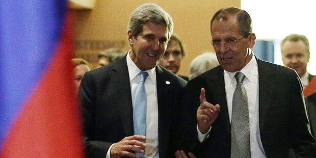 Syrien-Resolution: USA und Russland einig