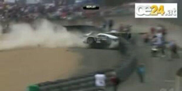 Le Mans mit Horrorunfall zu Ende