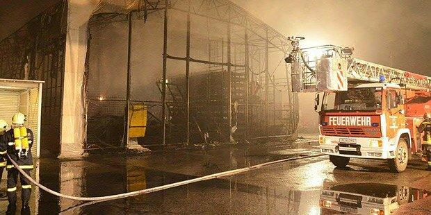 Elektrischer Defekt löste Großbrand aus