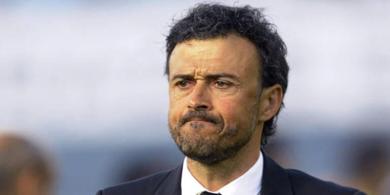 Luis Enrique ist neuer Barcelona-Trainer