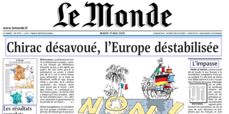 """Spanier wollen Mehrheit an """"Le Monde"""""""
