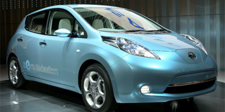 """Nissan Leaf ist das """"Car of the Year 2011"""""""