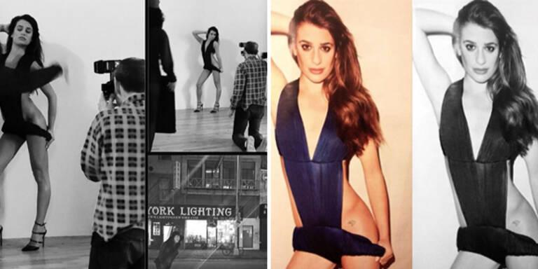 Lea Michele: Sexy Fotoshooting mit Terry Richardson