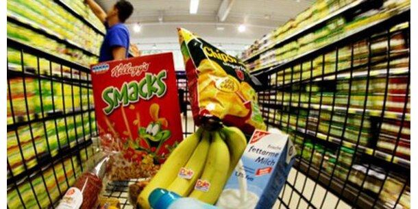 Lebensmittel bis zu 36 Prozent günstiger