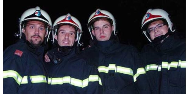 Bub aus brennender Wohnung gerettet