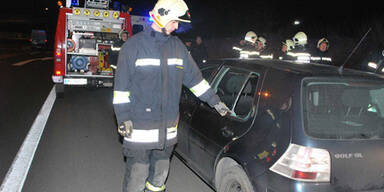 Bewusstlose aus versperrtem Auto gerettet