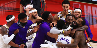 Lakers überrollen Heat und holen den Titel