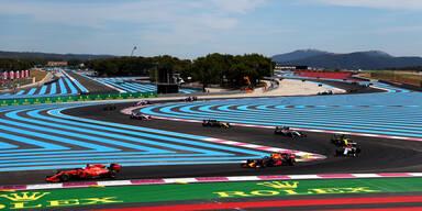 Formel 1: Grand-Prix in Frankreich steht vor Absage