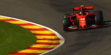 Erster Sieg für Leclerc