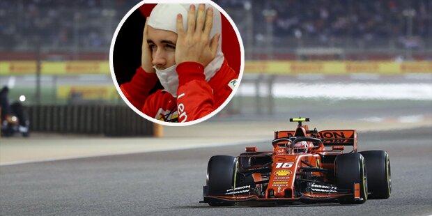 Enthüllt: Das steckte hinter Leclerc-Drama