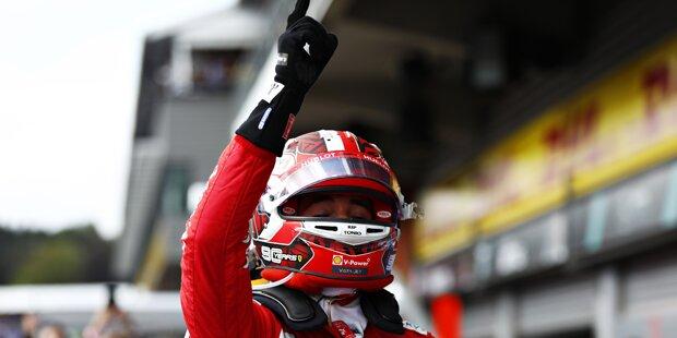 Leclerc sorgt für Monza-Beben