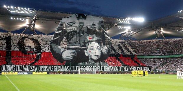 Polnische Fan-Choreo schockt die Fußball-Welt
