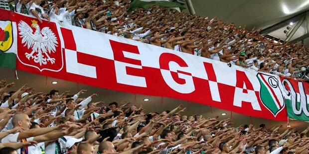 Legia-Ultras verprügeln Spieler auf Parkplatz