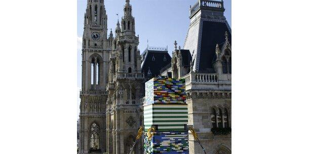 Der höchste Lego-Turm der Welt ist in Wien
