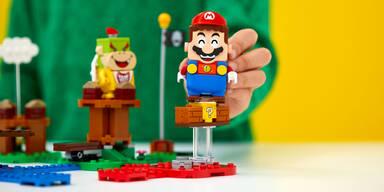 Nintendo bringt interaktiven Lego Super Mario