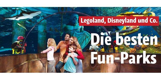 Die besten Funparks in Europa