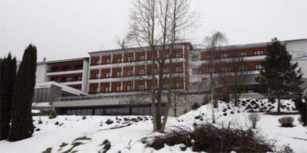 Hotellehrling im Winter ohne Heizung