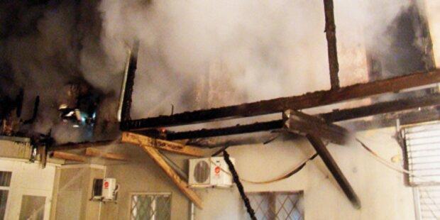 Großbrand in der Leibnitzer Innenstadt