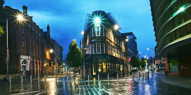 Großbritannien schottet Großstadt Leicester ab