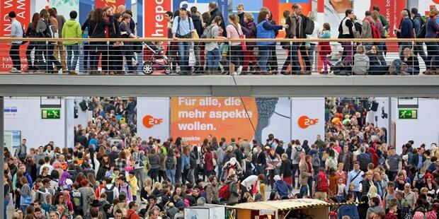 Besucherrekord bei Leipziger Buchmesse