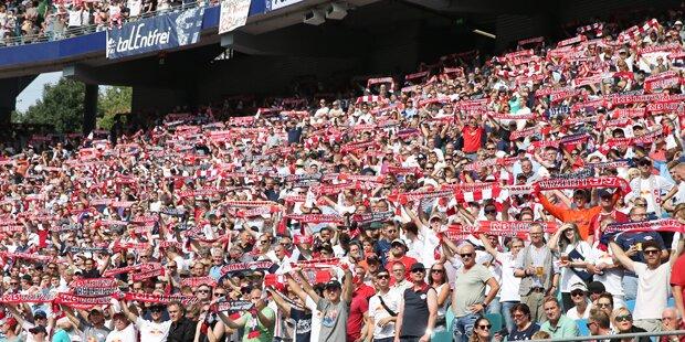 RB-Leipzig-Fans pfeifen auf die Champions League