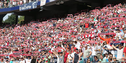 Die Leipzig-Fans kommen