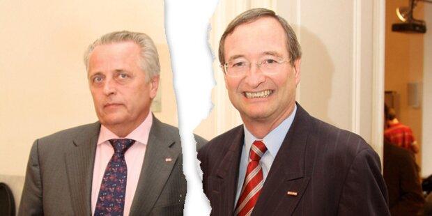 Koalition: Streit um Pensionen