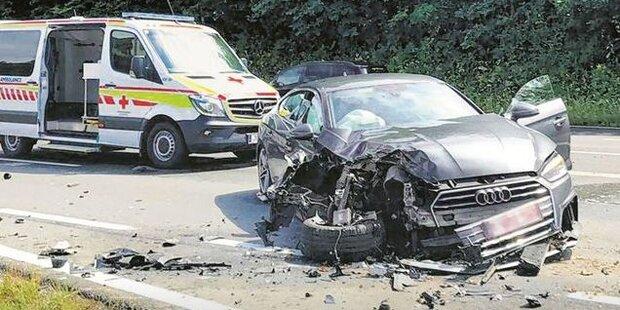 Massen-Crash sorgt für mehrere Schwerverletzte – darunter Kinder