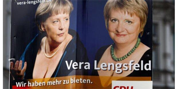 CDU wirbt mit Oberweite