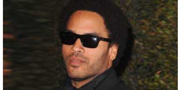 Musik statt Sex: Lenny Kravitz lässt's krachen