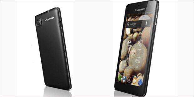 Lenovo greift bei Smartphones voll an