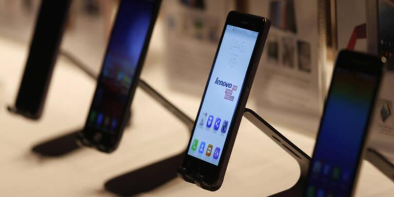 Lenovo-Smartphones auf Erfolgskurs