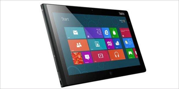 Lenovo bringt ThinkPad mit Windows 8