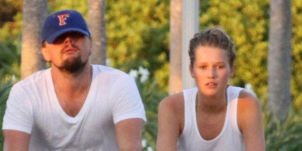 Liebes-Aus? DiCaprio & Garrn geben Rätsel auf