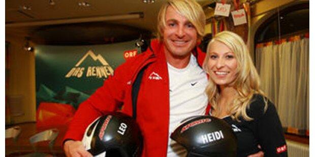Leo und Heidi bekommen ihre Helme
