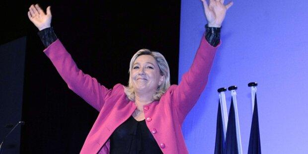 Rechtsextreme gewinnen in Frankreich