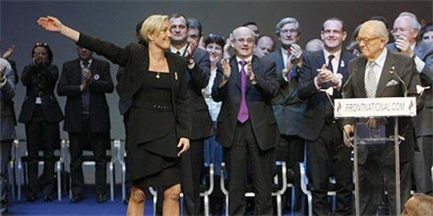 Le Pens Tochter führt Front National