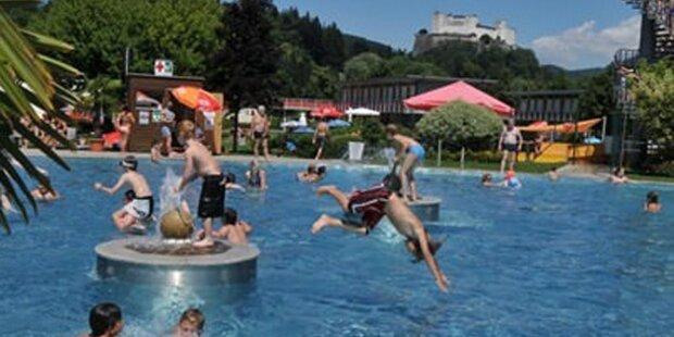 Schwimmbäder öffnen am 29. Mai