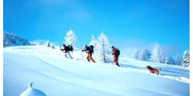 Verträumte Kulisse für Skitourengeher
