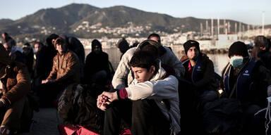 850 Flüchtlinge in der Ägäis aufgegriffen