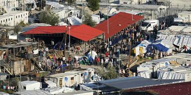 Zweites griechisches Flüchtlingslager unter Quarantäne