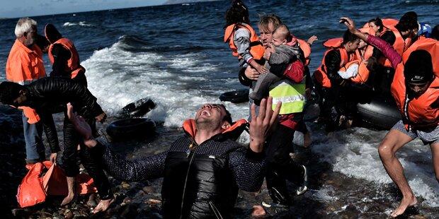 Flüchtlinge: Deutlicher Anstieg der Ankünfte