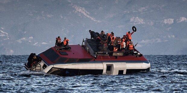 Flüchtlings-Drama in der Ägäis